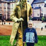 Заказать живую статую в Москве