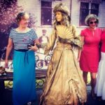 Живая статуя Дама 18 век