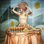 Живая статуя Леди-фуршет