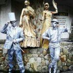 Ансамбль Живых скульптур на праздник