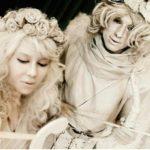 Живые статуи Ангелы