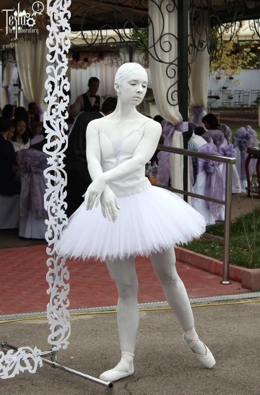 Живая скульптура Балерина
