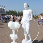 Живая статуя на мероприятие